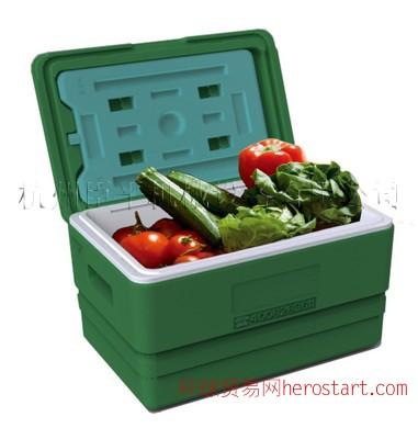生鲜配送箱|果蔬配送箱|有机蔬菜配送箱33L