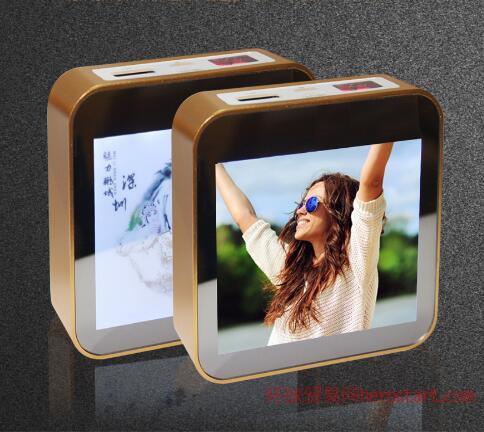 礼品定制:大屏幕LED广告显示屏移动电源