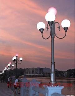 庭院灯 LED路灯 高杆球场投射灯 草坪道路景观灯 承接亮化工程