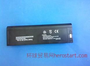 惠州供应日本光电TEC-8200心电图机医疗蓄电池 心电监护仪电池12V