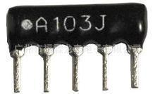 厚膜网络电阻 长方形低频排阻 A05-153JP