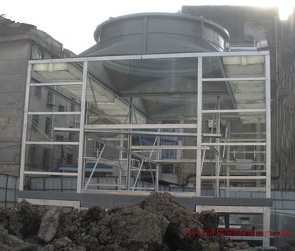 南京工业冷却塔安装、玻璃钢冷却塔安装