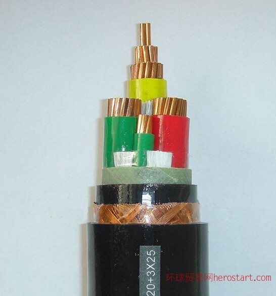 BPYJVP1-2交联铜带屏蔽变频器用电力电缆