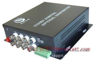 视频光端机8路视频+485数据