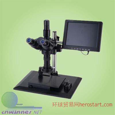 微电子、电子显微镜、钟表业、印刷制品检测视频显微镜