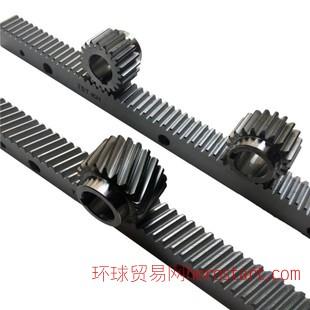 凯贺精铣调质齿条齿轮 高精度机械设备专用精密传动直齿条