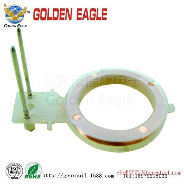 微型电感线圈,助听器线圈,空心线圈GE-005