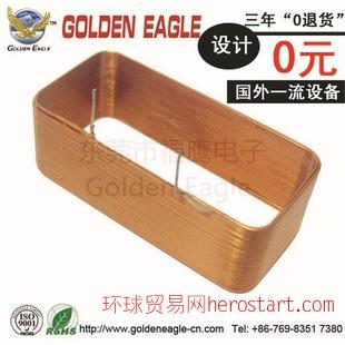 开合式电流互感器,江西优质方形线圈,空心扁平电感线圈GE067