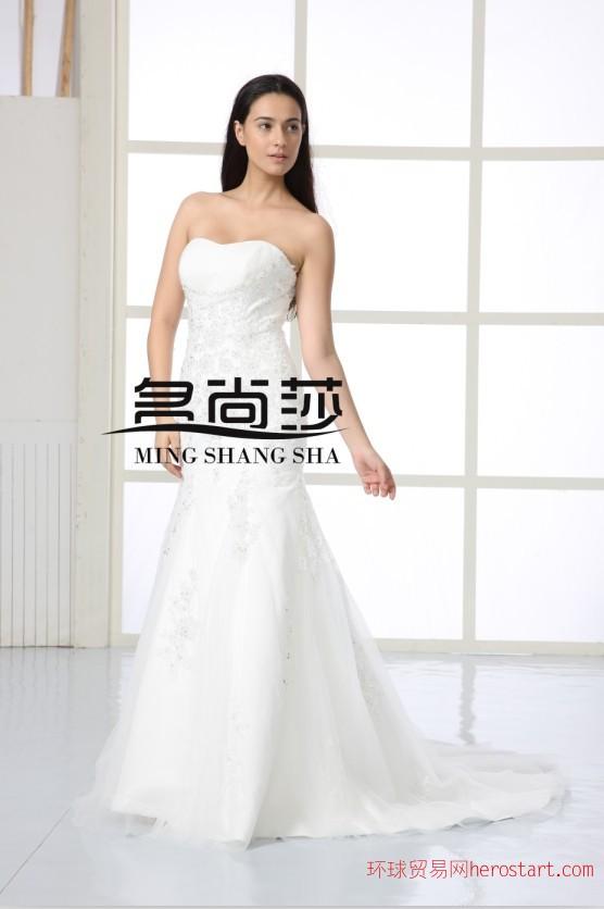 长沙婚纱店加盟 婚纱店加盟 名尚莎婚纱礼服公司
