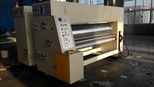 水墨印刷模切开槽机 纸箱包装机械