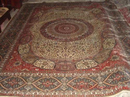 丝绸地毯silk carpet