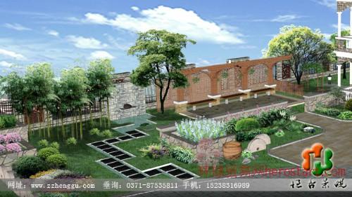 森林半岛别墅花园设计