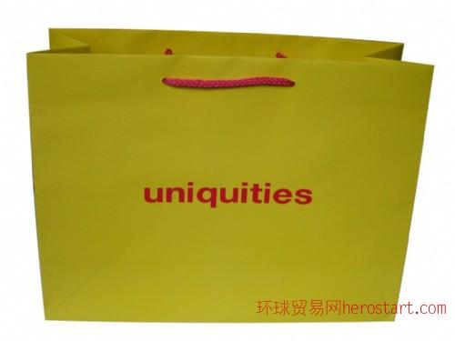 购物袋  纸袋印刷  服装包装袋