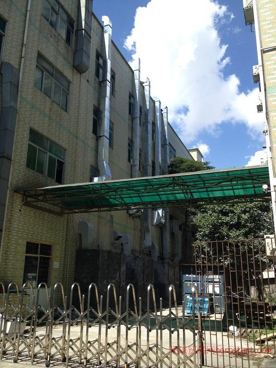 深圳抽风系统改造抽风机维修更换风柜管道维修