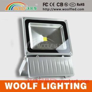 东莞供应照明灯具  100WLED投光灯  普瑞芯片  户外防水泛光灯