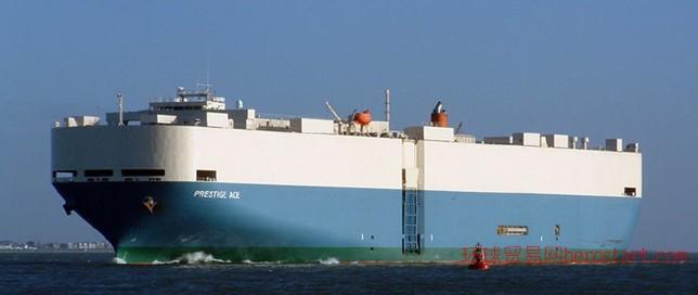 连云港到东南亚的滚装船