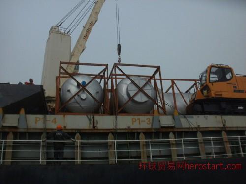 上海到卡拉奇的散杂船