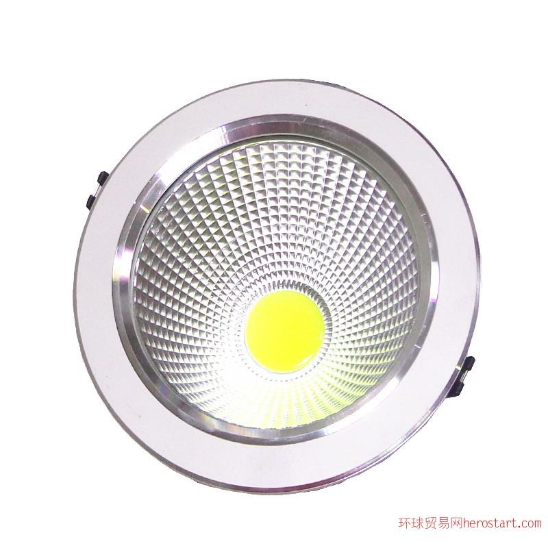 供应COB压铸刀片筒灯 新品LED压铸筒灯