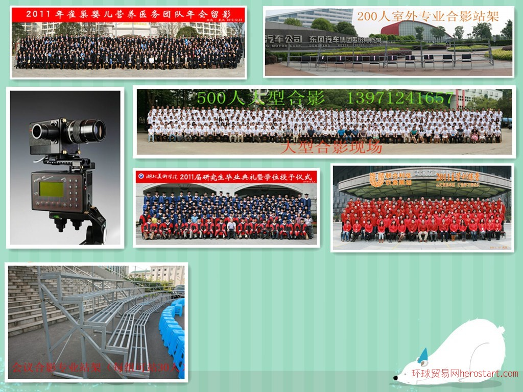 武汉大合影拍摄 100人至1000人 摄影摄像