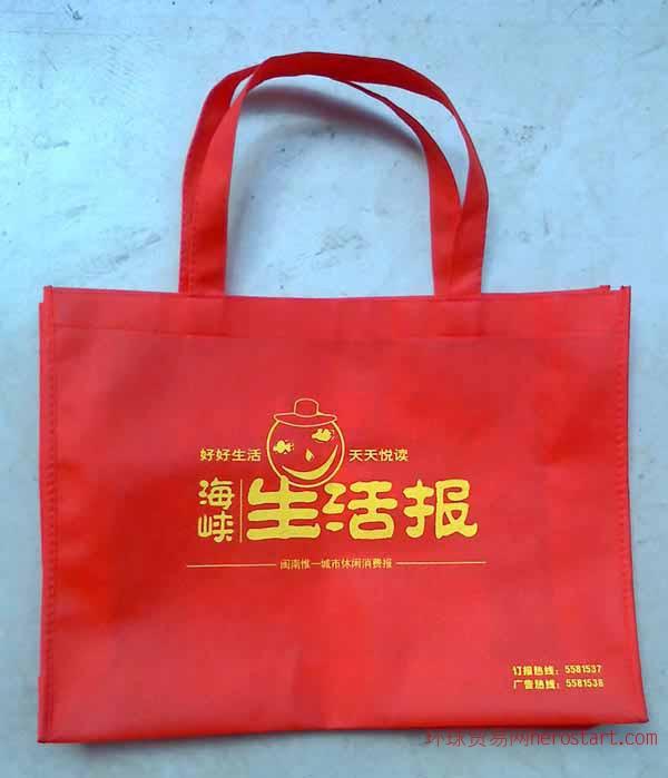 南昌丝网印刷环保袋加工生产 南昌环保袋