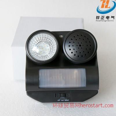 产品户外红外线感应驱鸟器
