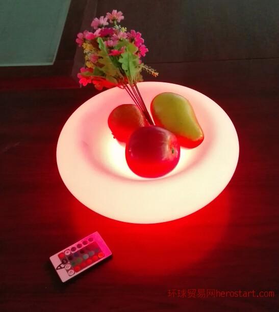 led 发光水果盘