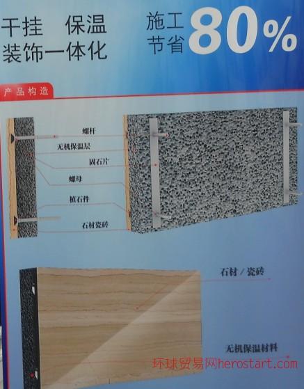 刮砂真石漆保温装饰一体板20mm上海