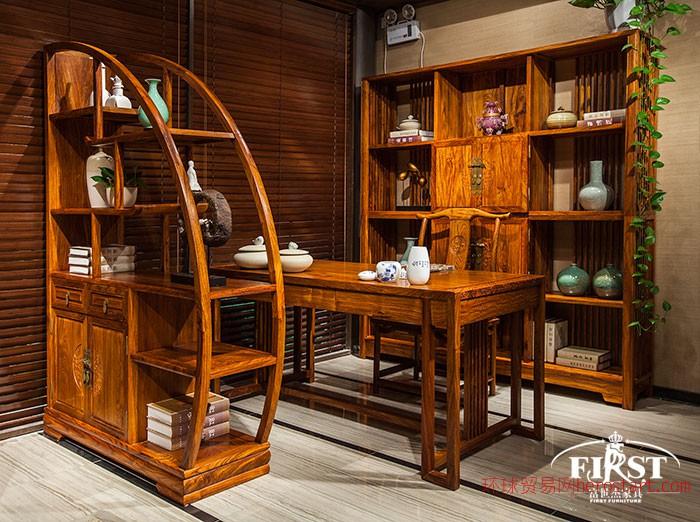 荷塘书房家具新中式家具新明式家具新明式花梨木家具