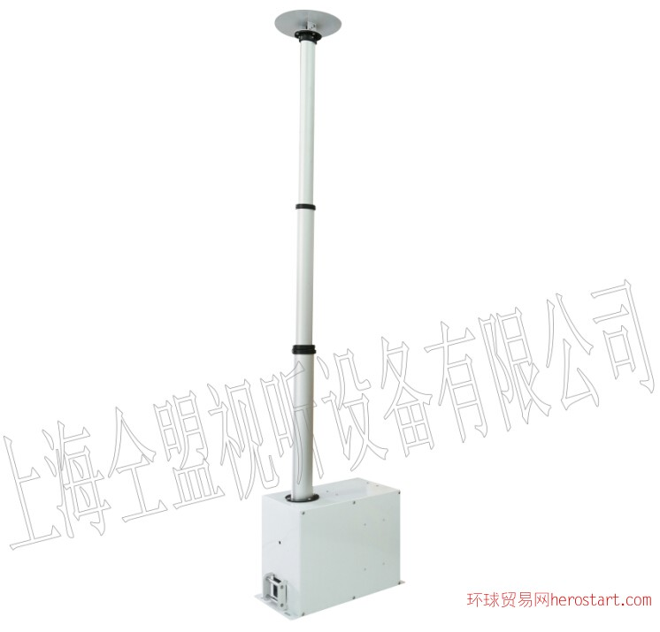 竹节式内走线推杆升降机