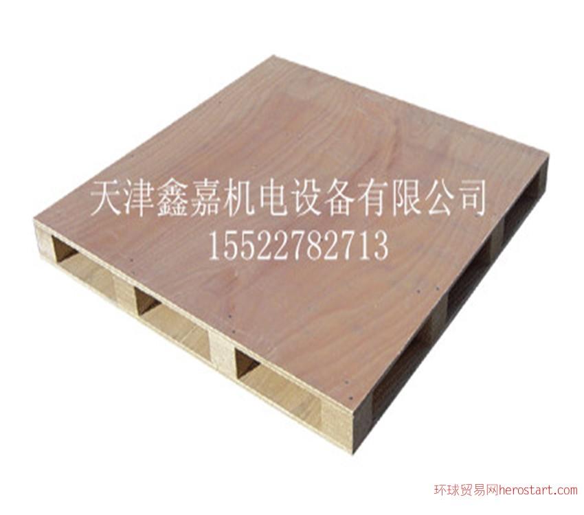 天津免熏蒸多層板出口木托盤棧板