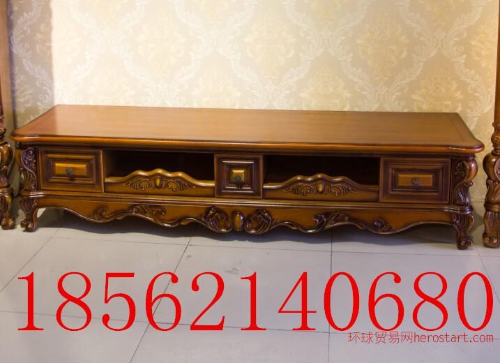 客厅家具欧式古典风格实木电视柜
