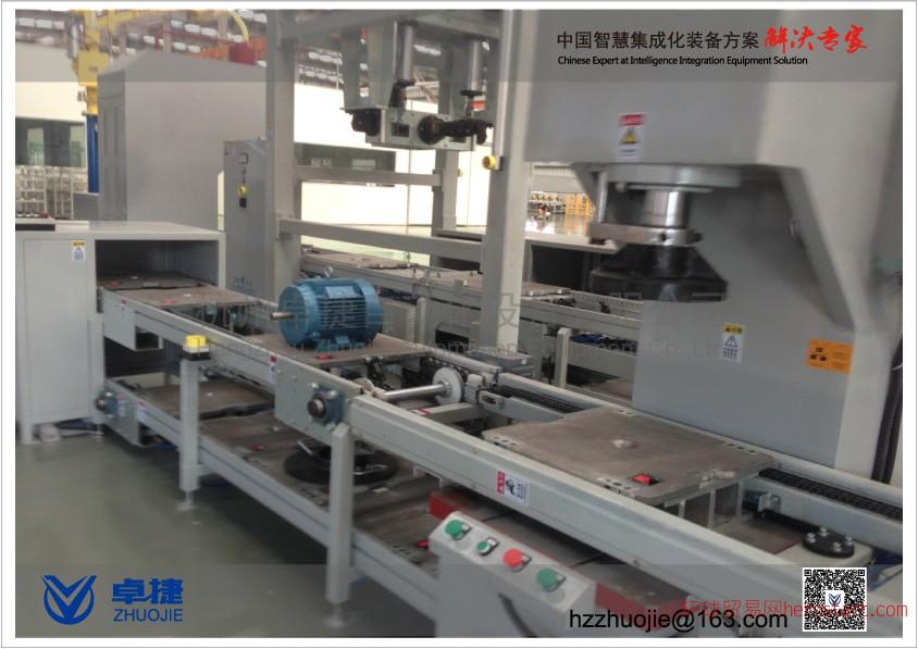 卓捷电机生产线组装线装配线流水线精品