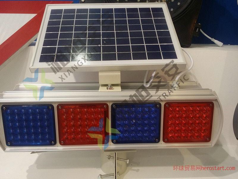太阳能爆闪灯湘旭交安行业领先生产技术