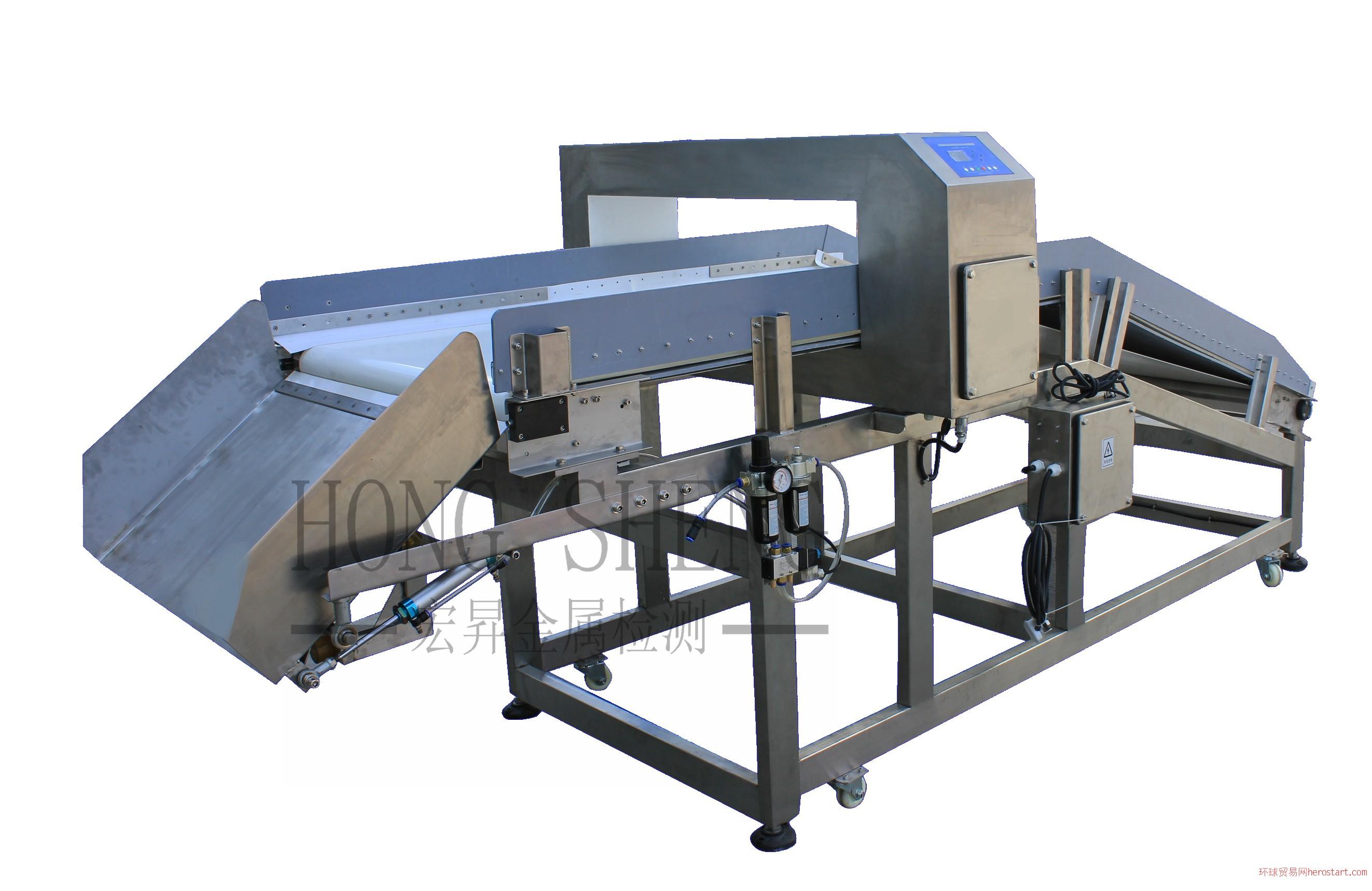 宏昇金属检测HS100A烟草、塑料回收专用金属检测仪