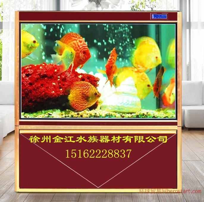 金江水族鱼缸定做大型水族箱生产鱼缸厂家