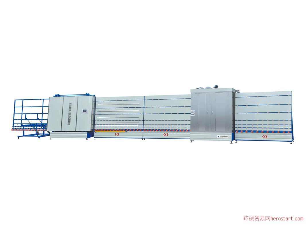 中空玻璃板压立式生产线(外合片)