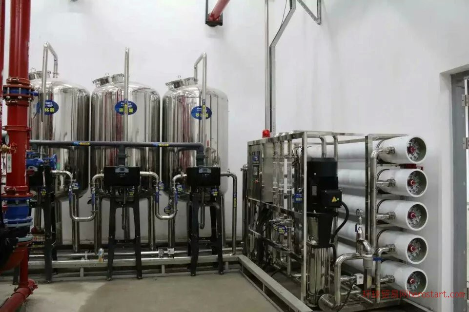 苏北全自动6吨反渗透纯水设备