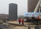 建造钢板仓、水泥库维修、粉煤灰仓库专业团队就找华伟钢板仓