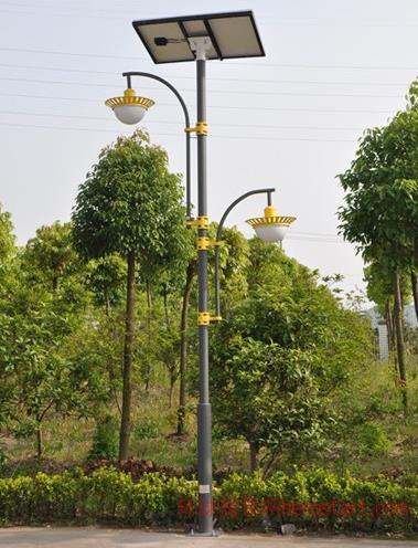 弘旭照明供应太阳能LED庭院灯防水庭院灯