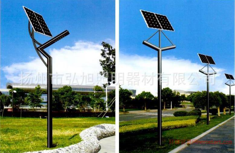 弘旭照明直销3米太阳能庭院灯景观灯户外灯