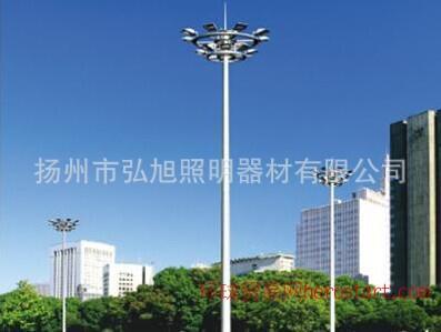 弘旭照明20米高杆灯8火高杆灯厂家直销