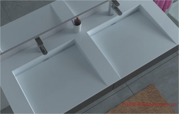 人造石浴室台面浴室洗手盆