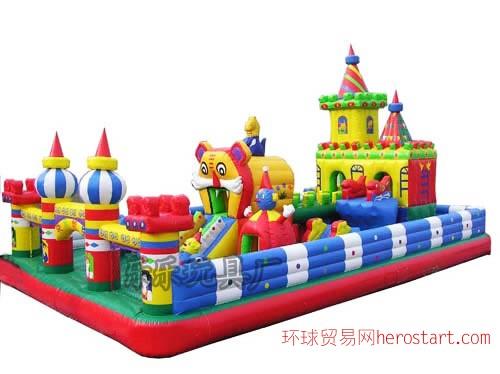 新款充气城堡 游乐 广场 公园大型滑梯蹦蹦床