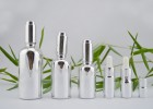 广州精油瓶电镀厂-精油瓶电镀加工-精油瓶丝印烫金加工