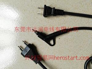 日本PSE电源线直发器旋转尾  美发电源线转尾SR外观