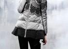 供潮流歐美重工藝多重手工工藝品牌佰多利亞羽絨服