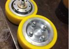 供应湖北聚氨酯滚轮,滚轮包胶,传动轮包胶,聚氨酯包胶