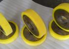 供应武汉载重胶轮耐磨聚氨酯橡胶包胶,高强度,不脱胶