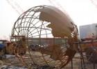 专业制作大型不锈钢地球仪雕塑厂家  不锈钢地球仪雕塑图片