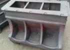 新型三孔猪槽模具,猪料槽模具,自由采食槽模具,大猪料槽模具